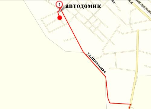 При въезде в город Лихославль, стоит указатель автосервиса (поворот на...  Схема проезда.